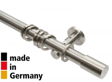20mm Garnitur Roller, 1-lauf, edelstahl